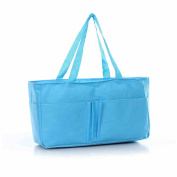 Fashion Gallery Mummy Bag Bottle Storage Multifunctional Separate Bag Nappy Maternity Handbag Baby Tote Nappy Organiser AB (Pink)