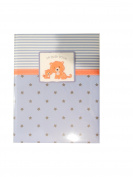 Boys Baby Memory Book Tiger Blue 5 Year Journal Keepsake