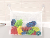 LIVIVO ® Kids Baby Bath Time Toy Tidy Storage Suction Cup Bag Mesh Bathroom Organiser Net