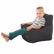 Comfy Toddler Armchair Beanbag Chair-Grey