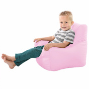 Comfy Toddler Armchair Beanbag Chair-Baby Pink