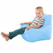 Comfy Toddler Armchair Beanbag Chair-Baby Blue
