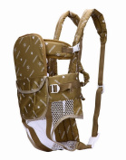 Flying Hedwig Newborn Kid Infant Baby Adjustable 6-in-1 Baby Carrier Soft Structured Ergonomic Sling Front Khaki