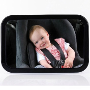 Creation® Baby Back Seat Mirror 29cm Large Size ,Best Back Seat Mirror For Keeping Your Eyes on Your Kids Mirror Safely See Your Child