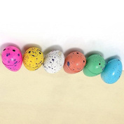 Interesting® 6Pcs Children Kids Toy Gift Magic Growing Dino Eggs Hatching Dinosaur Add Water Dinaosaur eggs