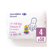 Carrefour Discount Size 4 Carry Pack 50 per pack