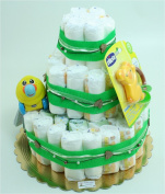 Three-Tiered Nappy Cake Go Go Music Duck