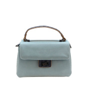 Boo. Handbag Python 01 Blue \ Shoulder Bag