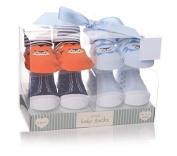 Shruti Baby Animals Socks Blue - Set of 4