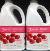 Torani Raspberry Real Fruit Smoothie Mix (2 Pack), 1890ml