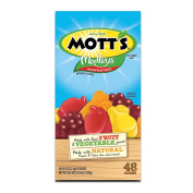 Mott'S Medleys Assorted Fruit Flavoured Snacks 48 Pouches 1140ml