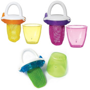 Munchkin Fresh Food Feeder 4 pack - ideal for hungry babies to feed themselves!