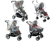 Universal Rain Cover for Buggy/Pushchair Stroller Buggy