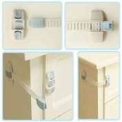 buy here Baby Kids Multi-function Cabinet Fridge Lock Baby Safety Products