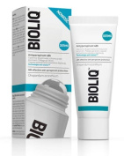 BIOLIQ - ANTYPERSPIRANT 48 H - 50 ml - PROVIDES EFFECTIVE SWEAT PROTECTION. CREATES A PROTECTIVE BARRIER AGAINST UNPLEASANT BODY odour. DOES NOT LEAVE WHITE OR YELLOWISH STAINS ON CLOTHES. PROVIDES CARE AND CALMS IRRITATION AFTER SHAVING. GENTLE FOR SK ..