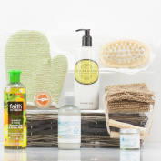 Natures Hampers Citrus Body Hamper - Luxury Gift Set for Her, Mum, Wife, Sister, Girlfriend or Grandma