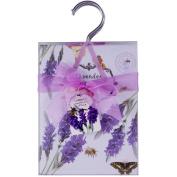 Four Pack of Wardrobe Hanger Home Fragrance Sachets - Lavender