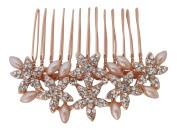 Pick A Gem Wedding Hair Accessories Diamante Pearl Multi Star Bridal Hair Comb Bridesmaid Mother of The Bride