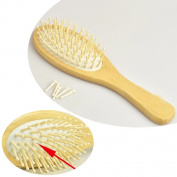 Wooden Bamboo Hair Vent Hair Care Brush SPA Massager Comb