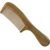 Natural Green Sandalwood No-static Handmade Hair Comb
