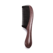 Silentrees Wooden with OX Horn Hand Made No Static Beard and Hair Comb