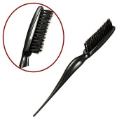 Terrece Teezer Handle Tangle Comb Hairdressing Anti-static Tease Bristles Hair Backcombing Brush