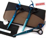 Pet Dog Grooming Scissors, Professional Hairdressing Scissors Hair Cutting Scissors Set Barber Shears Tijeras Pelo High Quality Salon