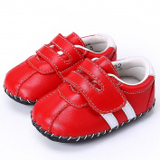 Baby walking Leather Shoes Classical Design for Girls & Boys Newborn 0-18 Months 3 Colours