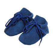 Baby Girls Boys Tassels Lace Up Moccasins Boots Prewalker Shoes