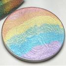 Rainbow Highlighter Blusher Eyeshadow Shimmer Powder Palette 3 In 1 Makeup Bronzer Contour Cosmetics