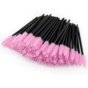 PsmGoods® 100PCS Disposable Eyelash Mascara Wand Brush Cosmetic Eye Wands Brush