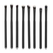 Hrph 8pcs Fashion Pro Makeup Cosmetic Tool Set Foundation Eye Shadow Eyebrow Lip Brush