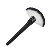 Familizo Women Makeup Large Fan Goat Hair Blush Face Powder Foundation Cosmetic Brushes