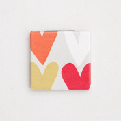 Caroline Gardner Hearts Pocket Mirror