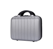 Genda 2Archer Small Vanity Case Hard Shell Travel Hand Luggage for Men and Women