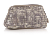 Ta Da Sequinned Grey Cosmetic Bag by Shruti