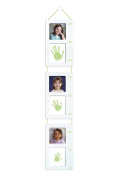 Tiny Ideas Baby's Handprint Photo Growth Chart