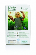 Nature Babycare Size 3 (9-20 lbs/4-9 kg) Nappies - 2 x Packs of 36
