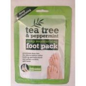 Tea Tree and Peppermint Deep Moisturising Pack