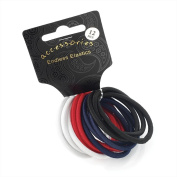 Set of 12 Spectator Thick Snag Free Endless Hair Elastics Bobbles Hair Bands