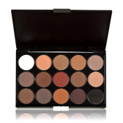 Tonsee 15 Colours Women Cosmetic Makeup Neutral Nudes Warm Eyeshadow Palette