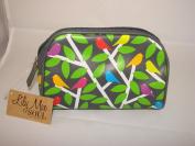 Soul Cosmetic Bag Beauty Case, 17 mm, Black / Green Tones