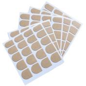 5 Sheet False Nail Tips Double-Sided Adhesive Tape Nail Art Stickers