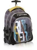 Trolley Bag, Large, Black, Shoulder straps