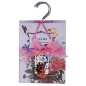 Four Pack of Wardrobe Hanger Home Fragrance Sachets - Freesia