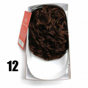 Sepia Drawstring Hair Pony Tail & Hair Extension 12 Caramel Brown