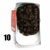 Sepia Drawstring Hair Pony Tail & Hair Extension 10 Coffee Brown