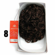 Sepia Drawstring Hair Pony Tail & Hair Extension 8 Chocolate Brown