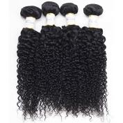 BeautyGrace Kinky Curly 7A Unprocessed Virgin Hair Brazilian Curly Virgin Hair Natural Colour 3pcs