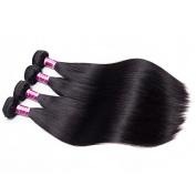 BeautyGrace Grade 9A Straight Hair Weave Natural Colour Hair Bundles 4PCS